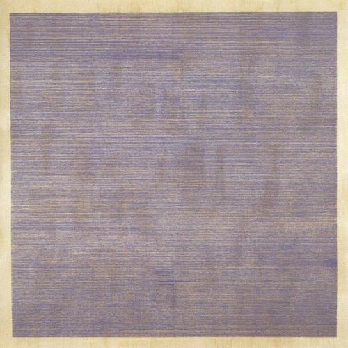 Agnes Martin, Falling Blue, 1963