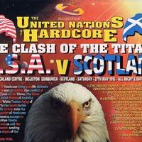 "DJ Scott Brown Rezerection Clash Of The Titans USA VS Scotland"" 27th May 1995"