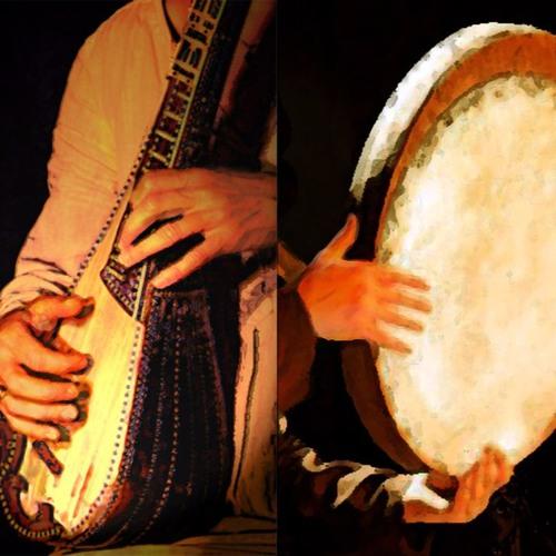 5 - Beshno Az Ney - EXTRAIT (Trad iranien)- E.TROY : Flûte, GambaCello / L.GIRARDEAU : Zarb/Tombak