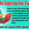 How To Sign Up For Twitter?
