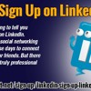 How To Sign Up On LinkedIn