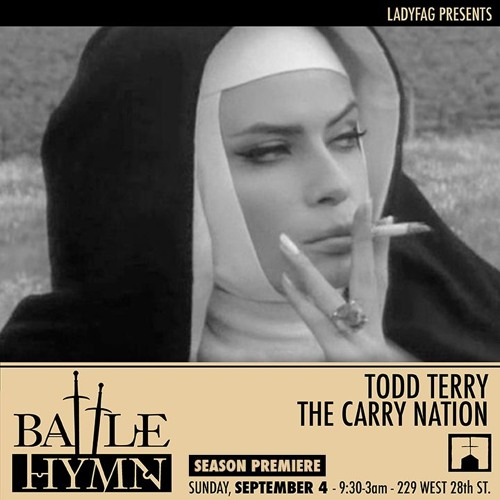 Todd Terry Live at Battle Hymn 9/4/16