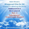 Bhagavad Gita - Q&A -Ch8 - 6 - 8 Part 2 -India Defense,  Constructing affirmations.mp3