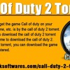 Call of Duty 2 Torrent