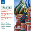 Taneyev: Complete String Quartets, Vol. 5 - String Quartet No. 8 in C Major