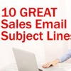 10 Great Subject Lines for Sales Emails - Sales Training