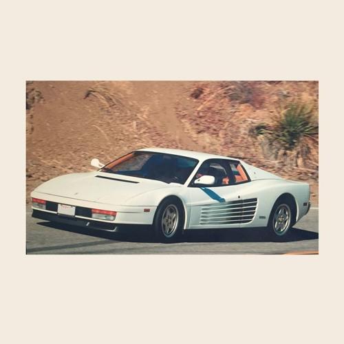 White Ferrari Jg Edit By Jacques Greene