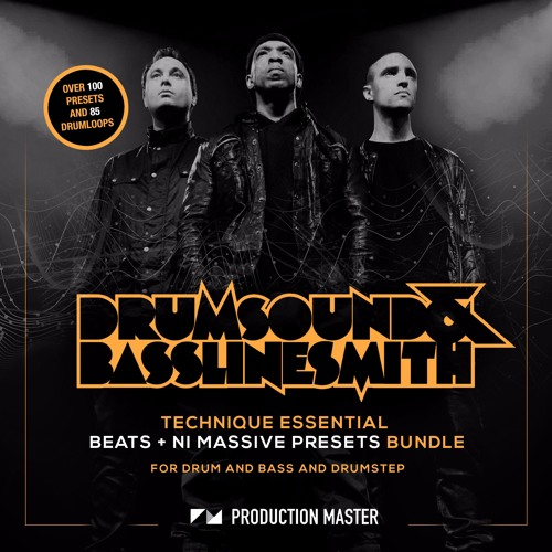 Drumsound And Bassline Smith - Technique Essential NI Massive Presets + Beats