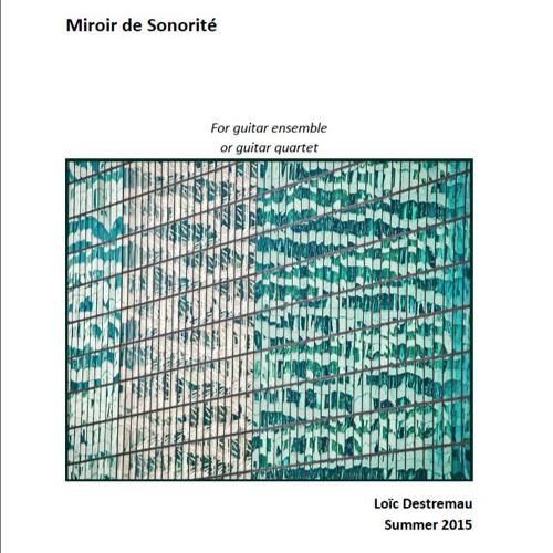 Miroir de Sonorité(2013)