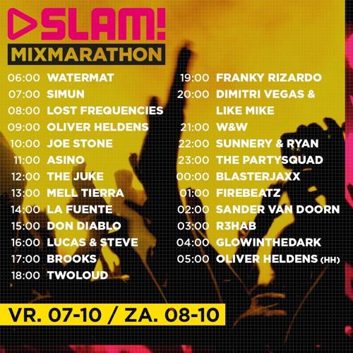 SLAM! MixMarathon Guest Mix | 07-10-2016