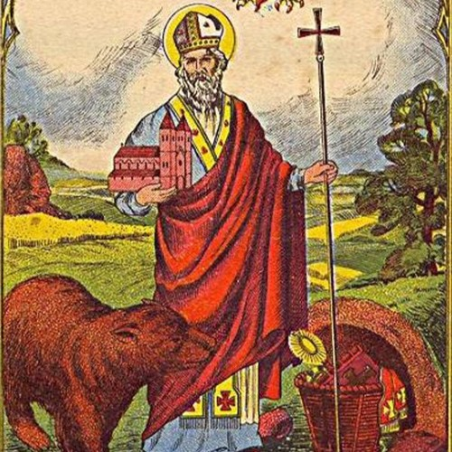 Afbeeldingsresultaat voor heilige St Ghislain