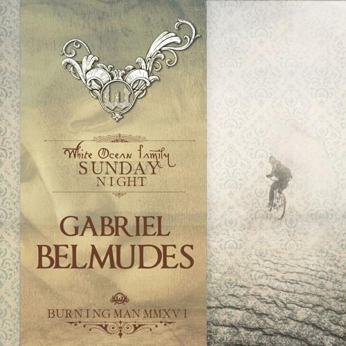 Gabriel Belmudes - White Ocean - Burning Man 2016