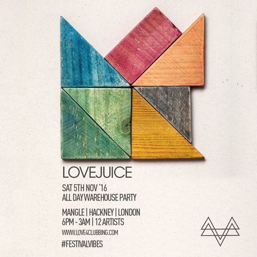 LoveJuice Warehouse Mood Part 1 - Brad James
