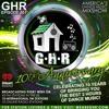 GHR - Ghetto House Radio - GHR's 10th Anniversary - Show 501