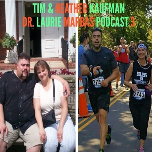 Tim and Heather Kaufman: From 400 pounds & addicted to pain killers to running a marathon