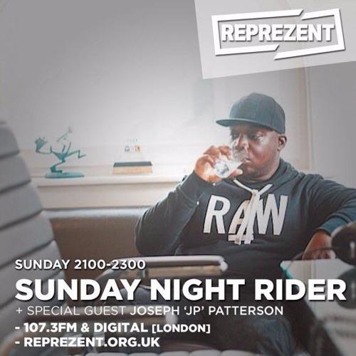 Sunday Night Rider: Joseph 'JP' Patterson on grime's misrepresentation in UK music media - 8/10/2016