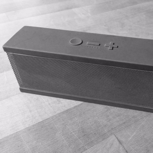 Strangely Beautiful Sound Of A Bluetooth Speaker Dying By Edmund Von Der Burg