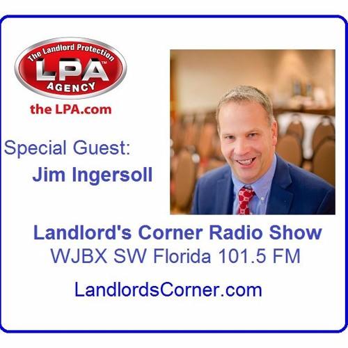 Landlord's Corner Radio Show #7 - Jim Ingersoll