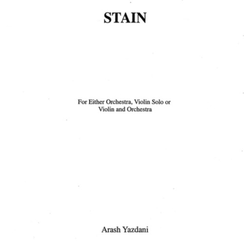 Stain -Orchestra and violin