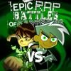 Danny Phantom vs Ben Tennyson. Epic Rap Battles of Cartoons 54.