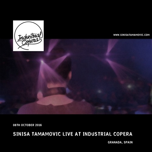 Sinisa Tamamovic Live at Industrial Copera, Granada, Spain
