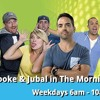 Brooke & Jubal in The Morning - Young Jeffrey's song of the week! The Manager song 10-14-16!