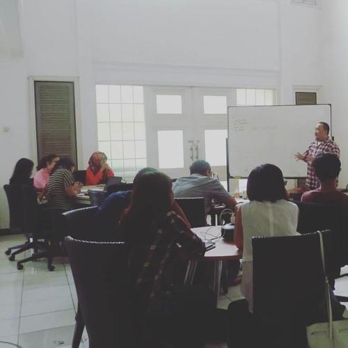 Lokakarya Podcast Pecinta Buku KSI - Mizan