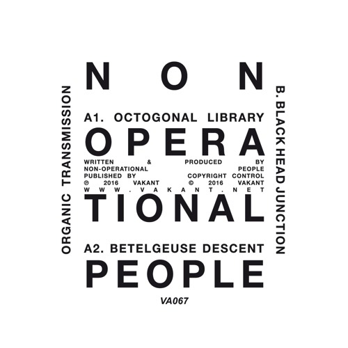 Non-Operational People - Organic Transmission