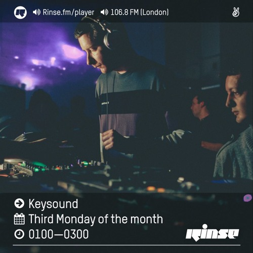 Rinse FM Podcast - Keysound - 17th October 2016