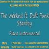 The Weeknd ft. Daft Punkt - Starboy (Acoustic Karaoke)