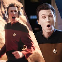 Data & Picard (Updated) Artwork