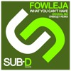 Sampler: Fowleja - What You Can't Have Unibe@t Remix