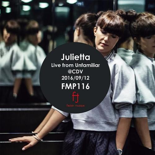 Fasten Musique Podcast 116 | Julietta