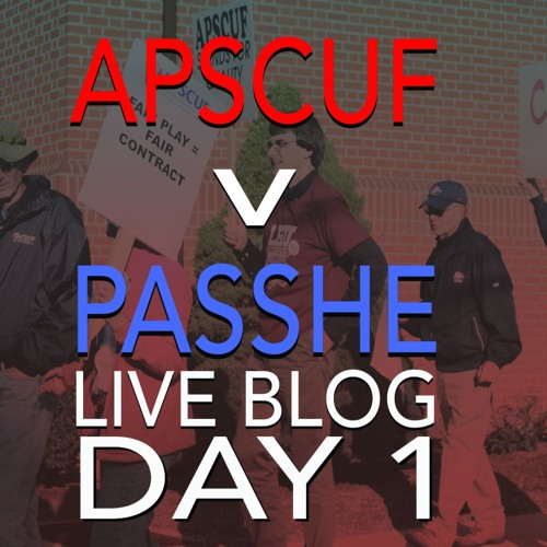 News at Noon: APSCUF v PASSHE