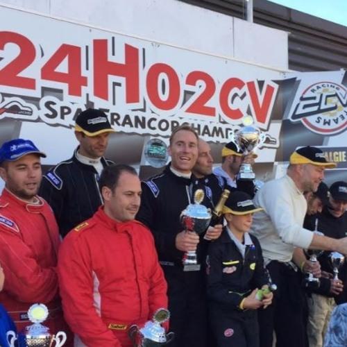 Westlanders hebben goud behaald op de 24-uurs race in Spa