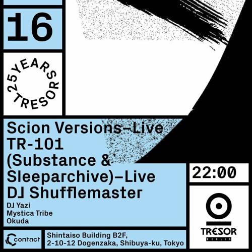 Dj Shufflemaster - Tresor 25 Years At Contact Tokyo 15 October 2016