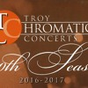 Evan Tublitz on the Troy Chromatic Concert Series