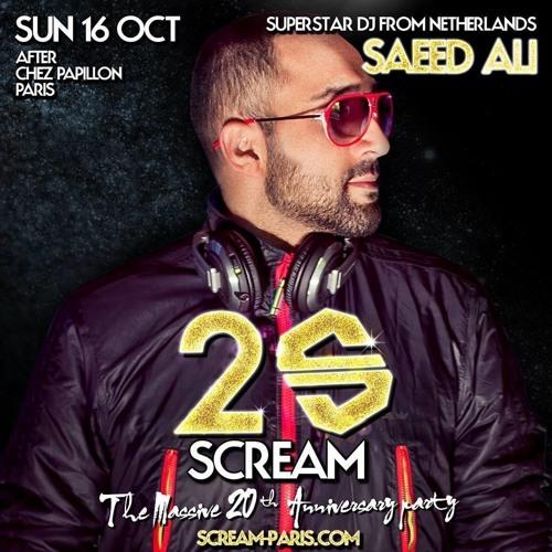 Scream Paris 20th Anniversary (after hour live set)