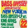 BASS ODYSSEY ANNIVERSARY NEW YORK 2016