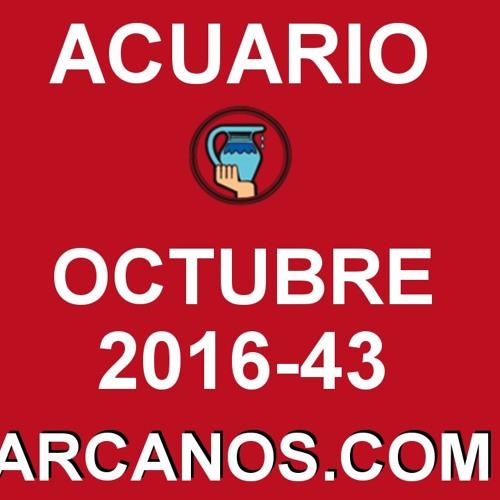 ACUARIO OCTUBRE 2016 - 16 Al 22 De Octubre - Horoscopo Del Amor Solteros Parejas - ARCANOS.COM