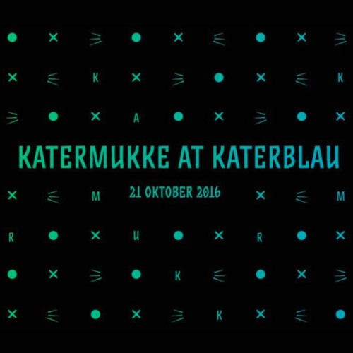 vom Feisten @ katermukke night, katerblau 21/10/16