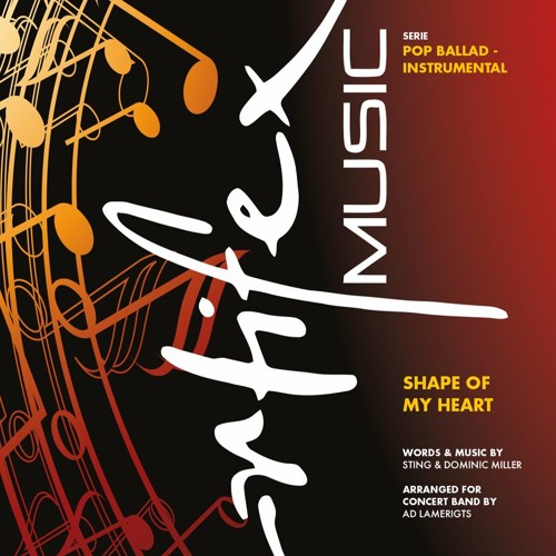 Shape Of My Heart - Concert Band [Hoge Kwaliteit]