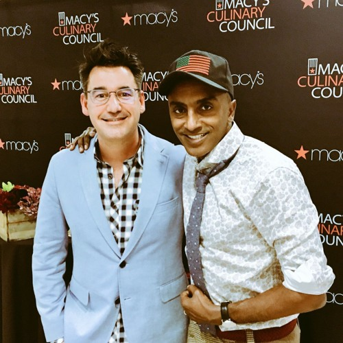 Marcus Samuelsson with Joel Riddell on Dining Around