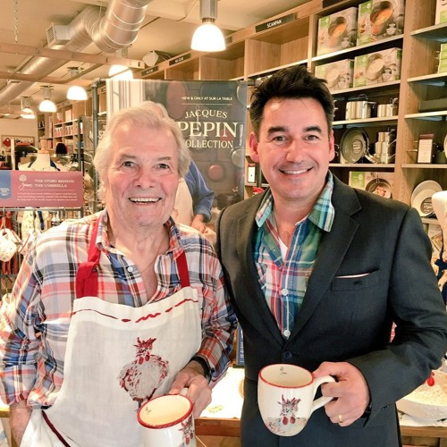 Jacques Pepin joins Joel Riddell on Dining Around