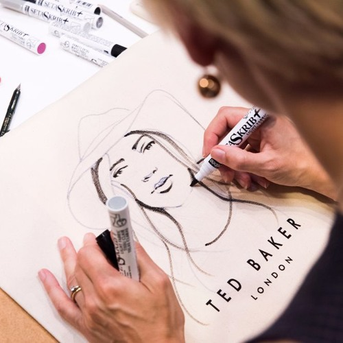 Ep 33: Live Illustration London (LIL), a new collective join me to talk live art and fashion brands