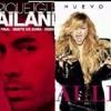 Enrique Iglesias Ft. Paulina Rubio - Bailando Mi Nuevo Vicio Ft. Morat (Mashup) Link Portada del disco