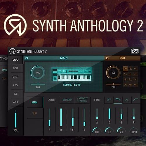 Synth Anthology II by MXXWLL (100% SA2)