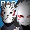 Rap Do Três Anbu - Kakashi, Itachi e Yamato (Naruto) | Águia | Conjunto 08
