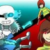 (Chara Vs Sans) Stronger Than You Duel Duet (Milkychan & Djsmell) W- Lyrics [Undertale Parody]