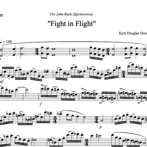 Fight In Flight - Solo Flute